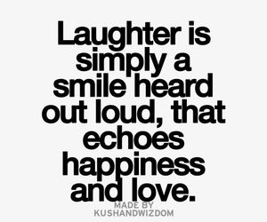 happiness, Heard, and laughter image