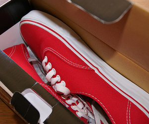 vans, photography, and red image