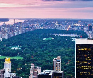 city, Central Park, and sky image