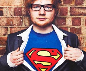 ed sheeran, superman, and ed image