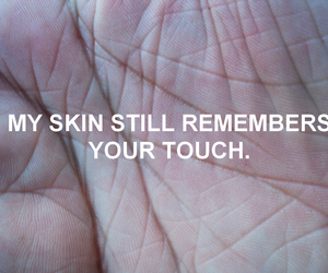 quote, skin, and grunge image