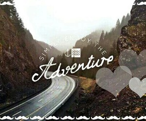 ♥, adverture, and love image