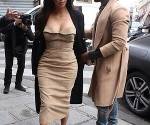 fashion, kim kardashian, and kanye west image