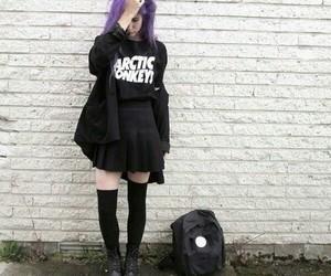 grunge, arctic monkeys, and black image