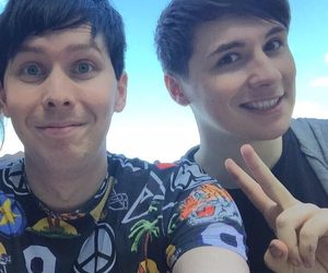 danisnotonfire, amazingphil, and phil lester image