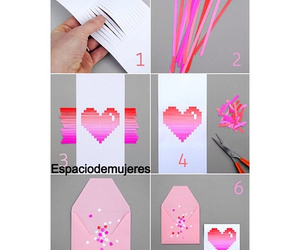 diy, craft, and heart image