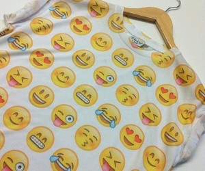 clothing, smiley, and womens image