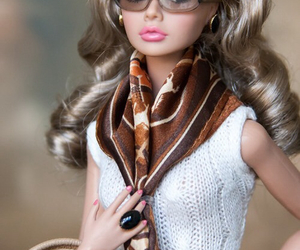 doll, barbie, and fashion image
