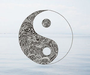 sea, yang, and ocean image