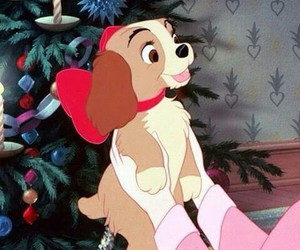 disney, dog, and christmas image