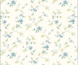 background, rose pattern, and blue on white image