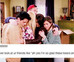 funny, f.r.i.e.n.d.s, and text post image