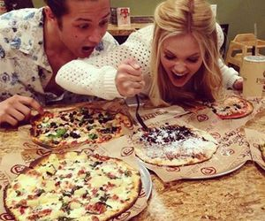 friendship, pizza, and leo howard image