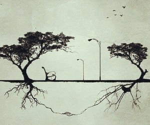 draw, tree, and life image