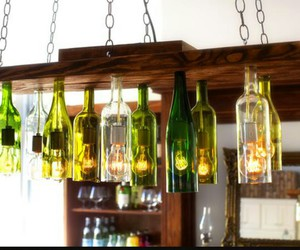 chandelier, diy chandelier, and chandelier ideas image