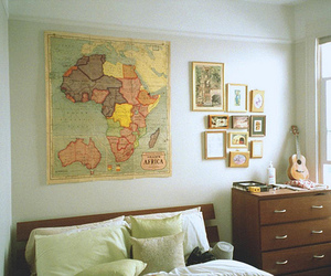 room, map, and bedroom image