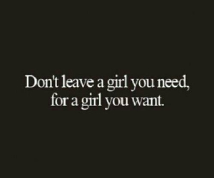 girl, quote, and need image
