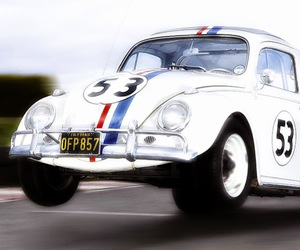 cars, Herbie, and tv shows image