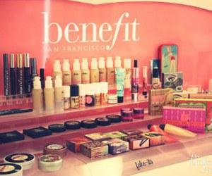 benefit and makeup image
