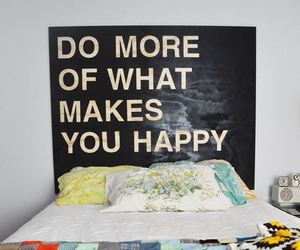 bedroom, wall, and quote image