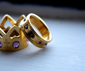 rings, king, and Queen image