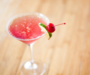 cherry, cocktail, and drink image
