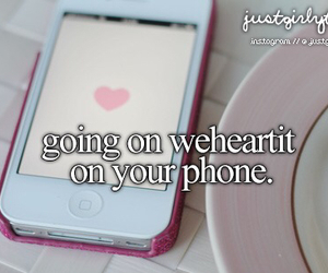 phone, we heart it, and weheartit image