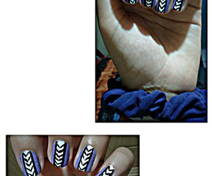 girl, nails, and nails art image