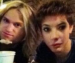 ashley benson and keegan allen image