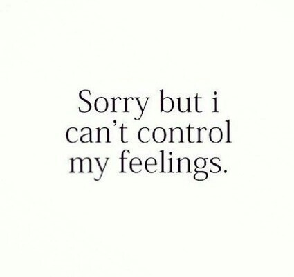 feelings and quote image