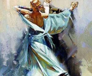 dance, ballroom, and couple image