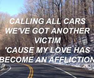 aesthetic, edit, and Lyrics image