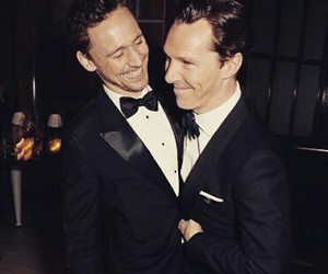 tom hiddleston and benedict cumberbatch image