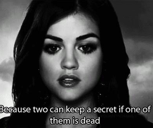 pretty little liars, quote, and lucy hale image