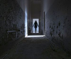 dark, alone, and ghost image