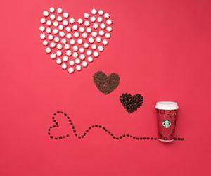 christmas, coffee, and latte image