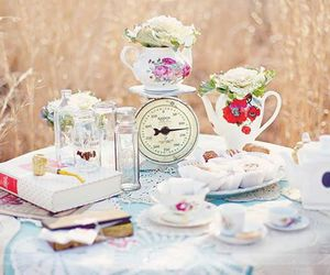 book, pretty, and cup image