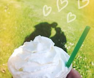 starbucks and love image