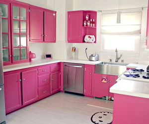pink, decoration, and hello kitty image