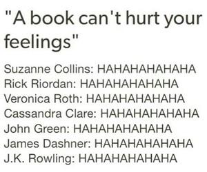 books, feelings, and true image
