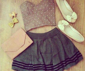 bows, dress, and cute image
