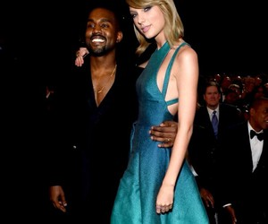 Taylor Swift and kanye west image