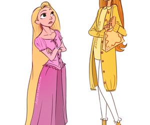 big hero 6, honey lemon, and rapunzel image
