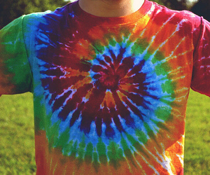 colors, psychodelic, and t-shirt image