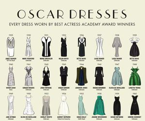 oscar, dress, and actress image