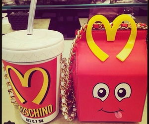 Moschino and moschino mcdonals image