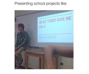 haha, present, and projects image