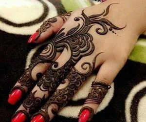 henna, mehndi, and tattoo image