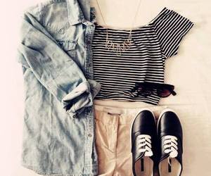 outfit, shoes, and summer image
