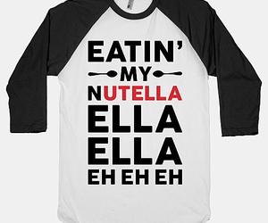 nutella, fashion, and food image
